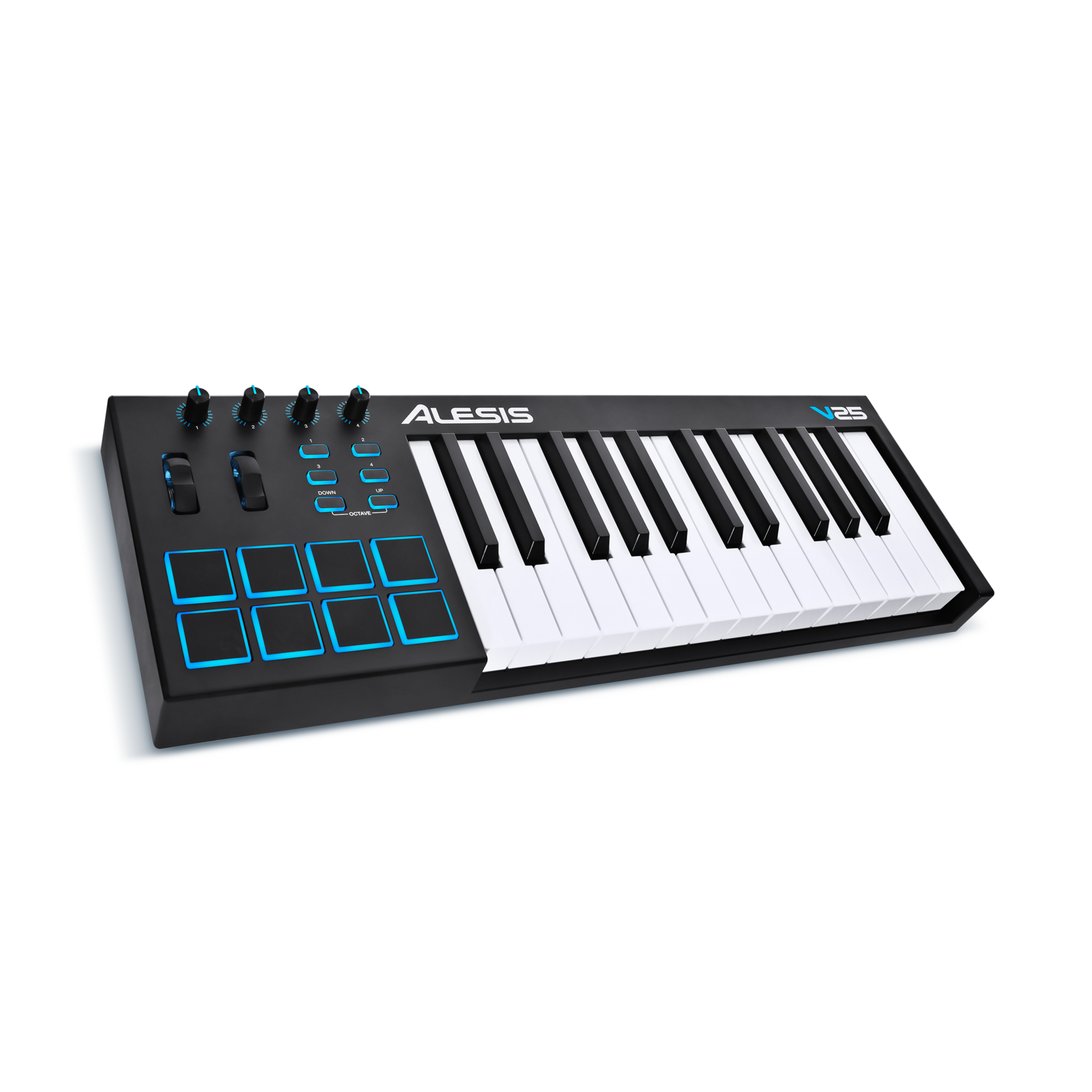 ALESIS V25 25 KEY USB KEYBOARD AND PAD CONTROLLER