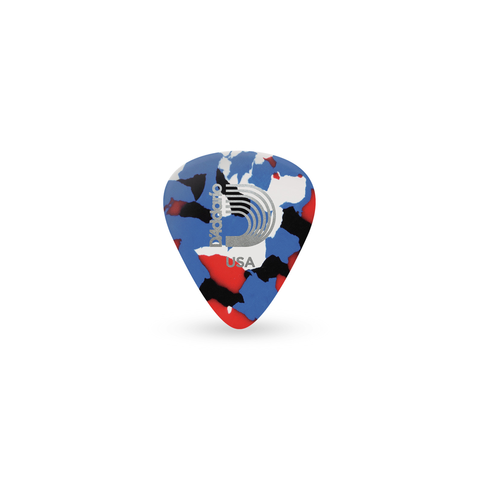 D'ADDARIO MULTI-COLOUR CLASSIC CELLULOID PICKS 0.7MM 25 PACK