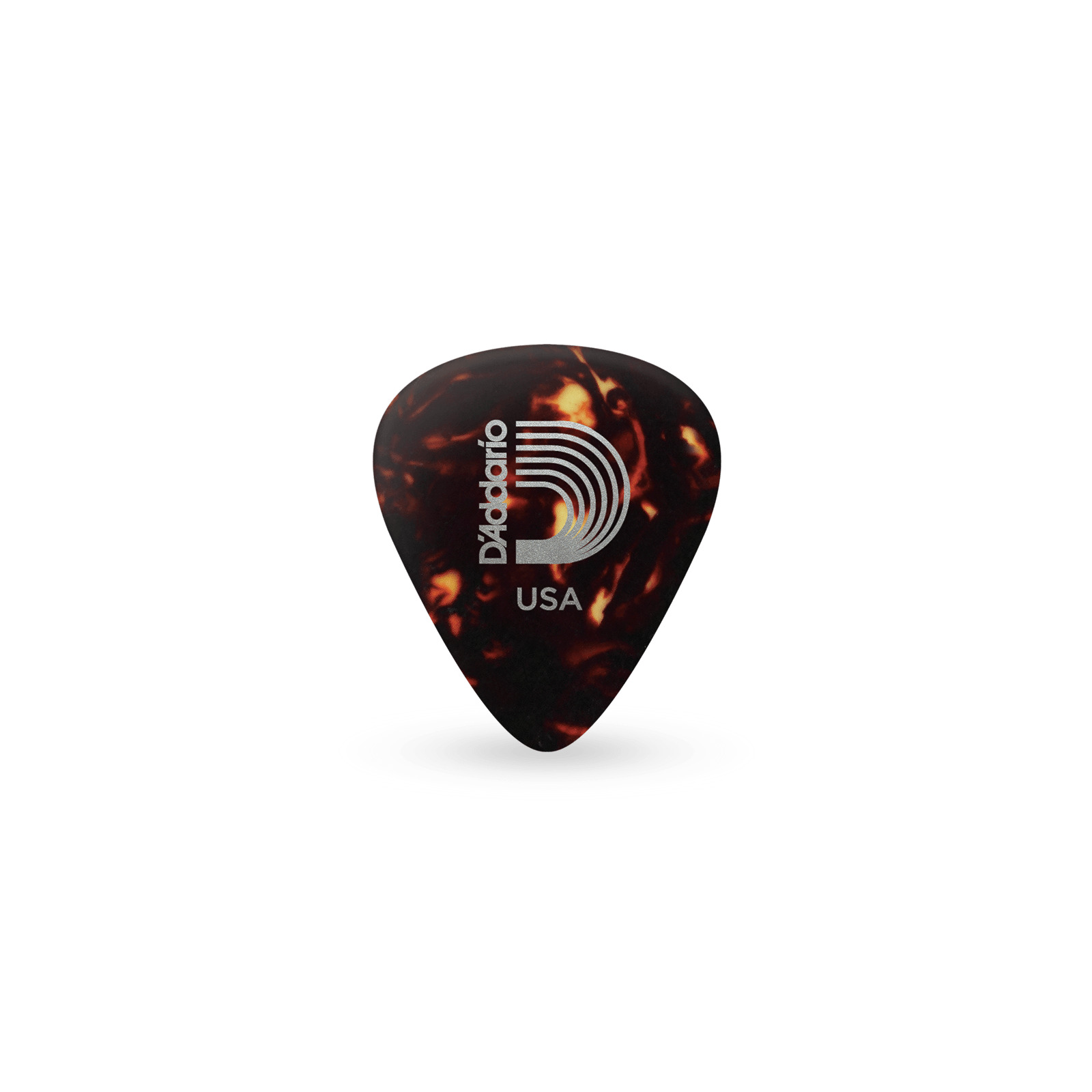D'ADDARIO SHELL CLASSIC CELLULOID PICKS .50MM 10 PACK