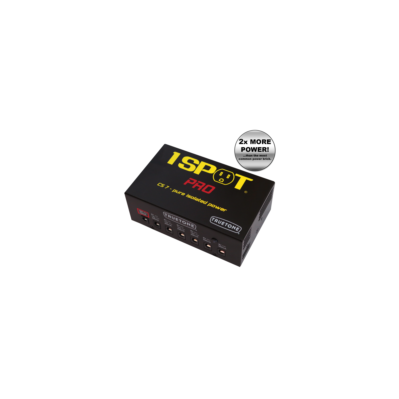 TRUE TONE 1 SPOT PRO CS 7 MULTI VOLTAGE POWER SUPPLY