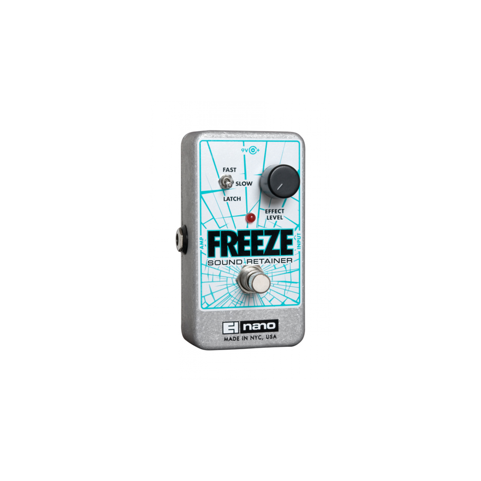ELECTRO HARMONIX EHX FREEZE PEDAL - INCLUDES 240v POWER SUPPLY