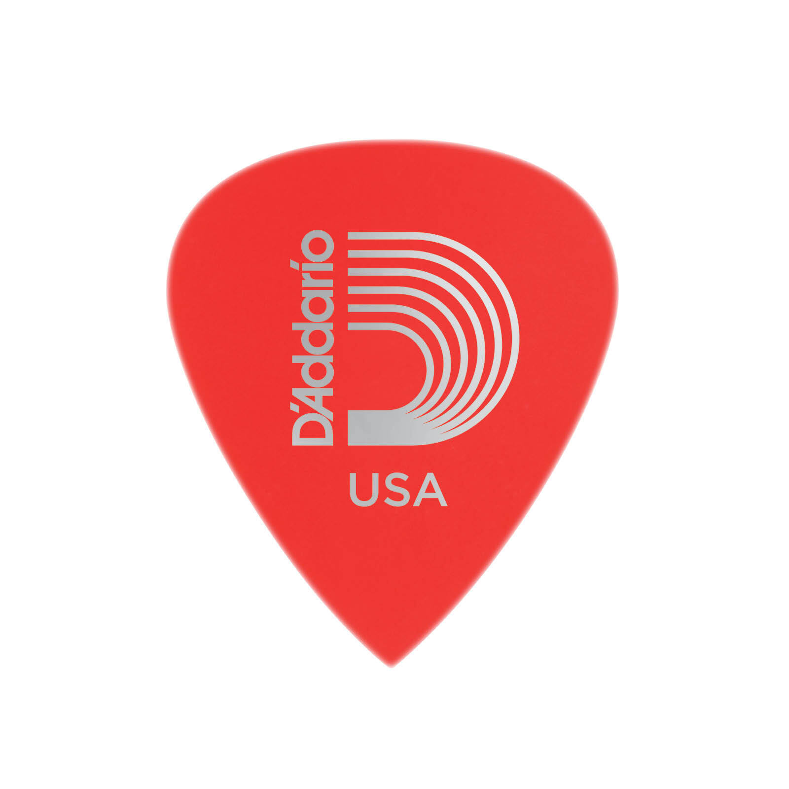 D'ADDARIO RED DURALIN SUPER LIGHT 0.50MM PICKS 10 PACK