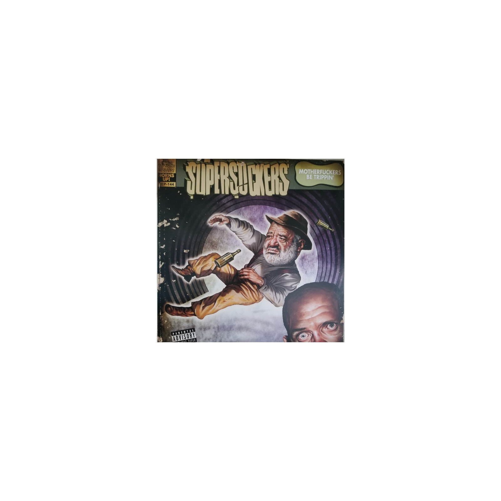 SUPERSUCKERS - MOTHERFUCKERS BE TRIPPIN' REMASTERED VINYL