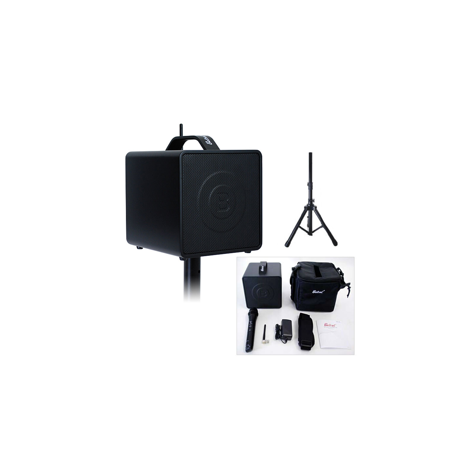 BELCAT 8040W WITH HANDHELD AND BODY PACK TRANSMITTER