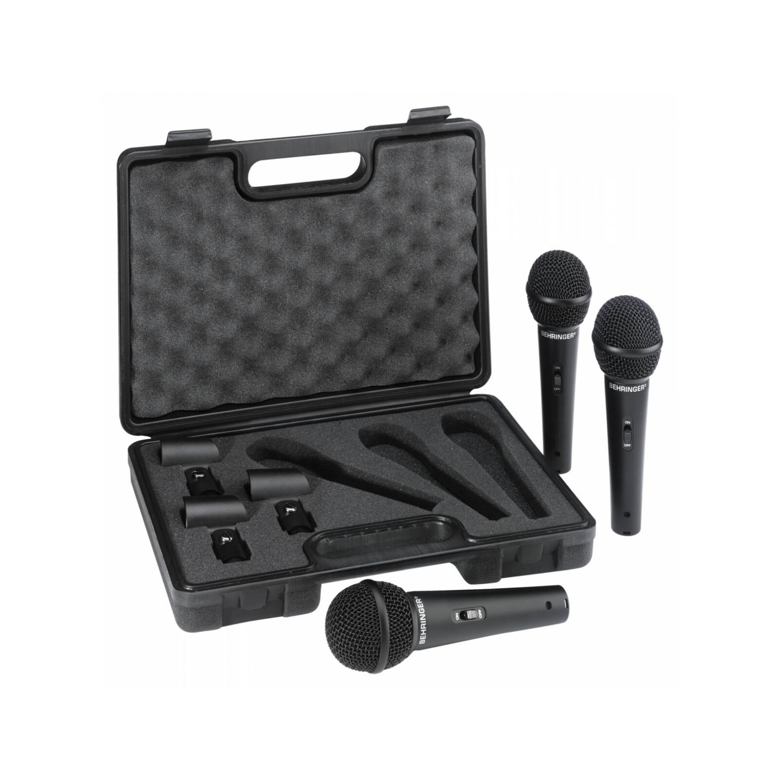 BEHRINGER XM1800S 3 MICROPHONE PACK