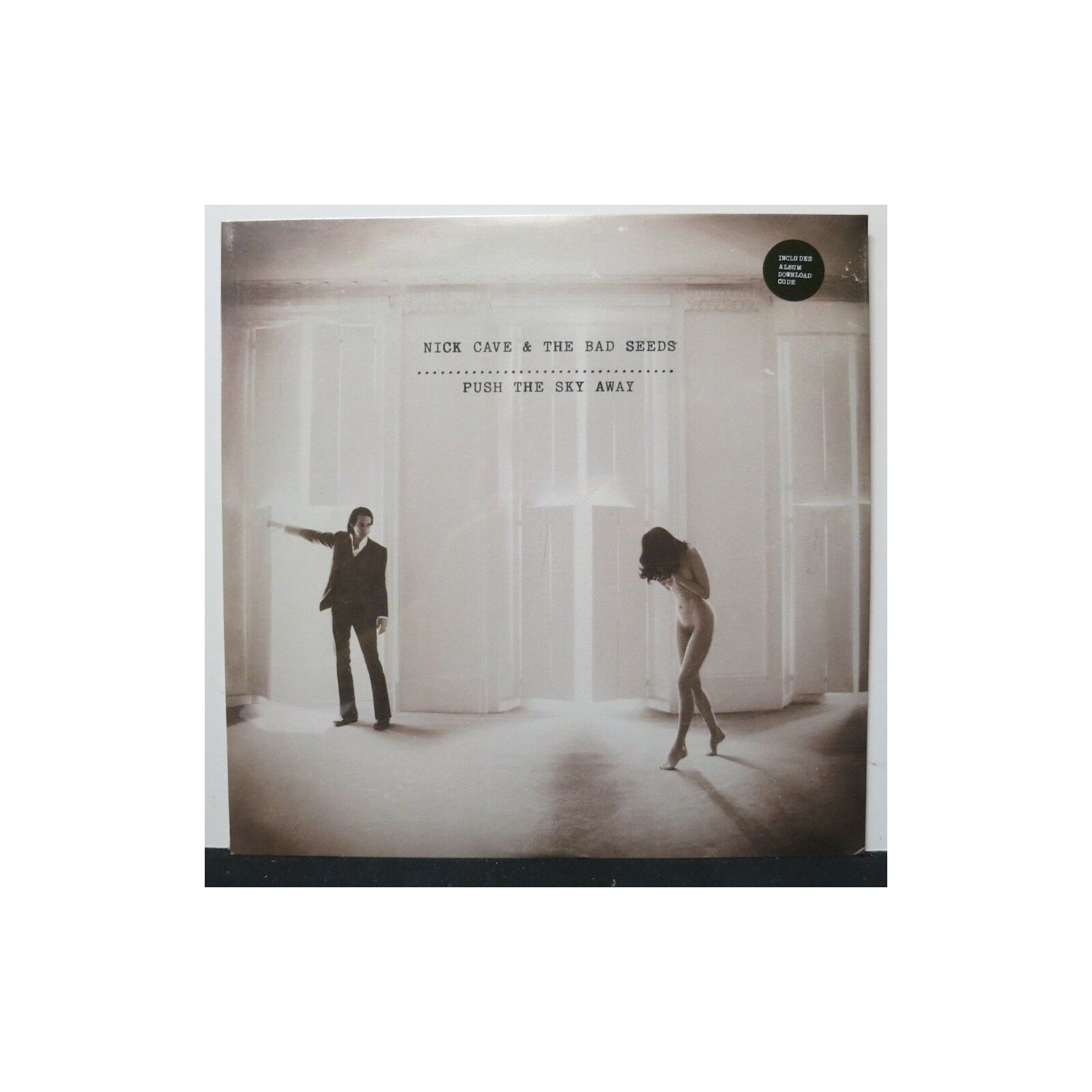 NICK CAVE & THE BAD SEEDS - PUSH THE SKY AWAY VINYL