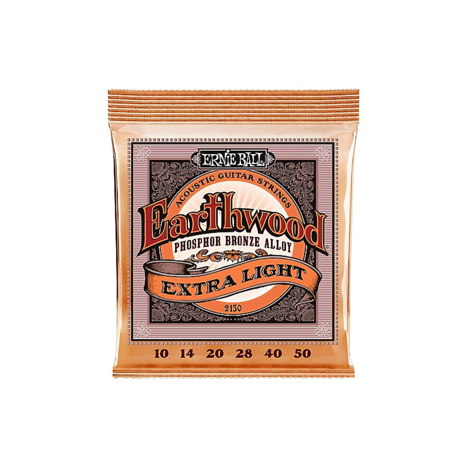 ERNIE BALL EARTHWOOD PHOS BRONZE-X-LITE-10/50