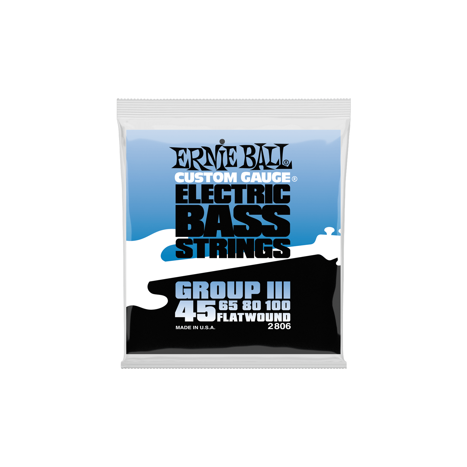 ERNIE BALL FLATWOUND GROUP III BASS STRINGS 45-100 E2806