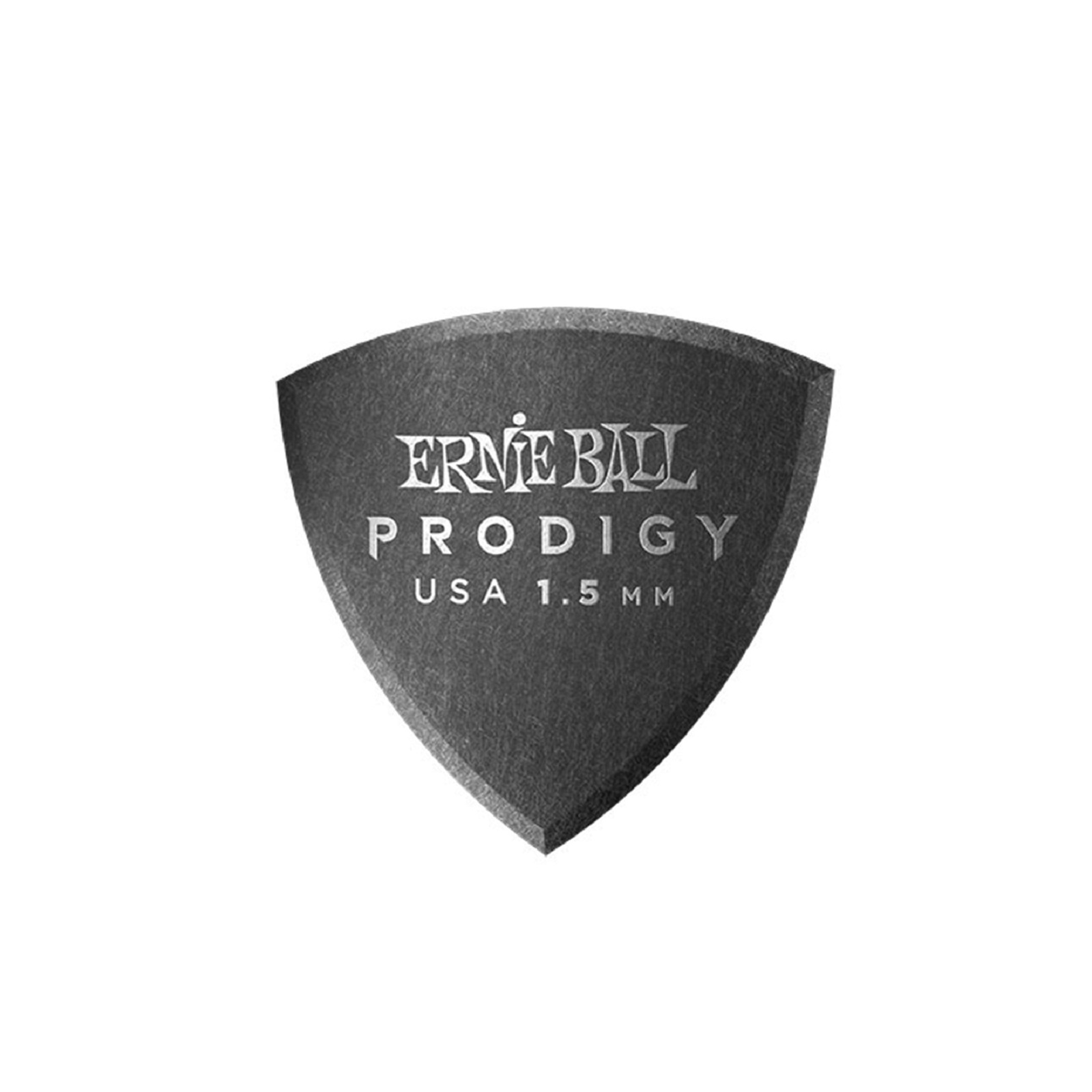 ERNIE BALL PICKS - PRODIGY - SHIELD - 1.5 MM BLK 6PK E9331