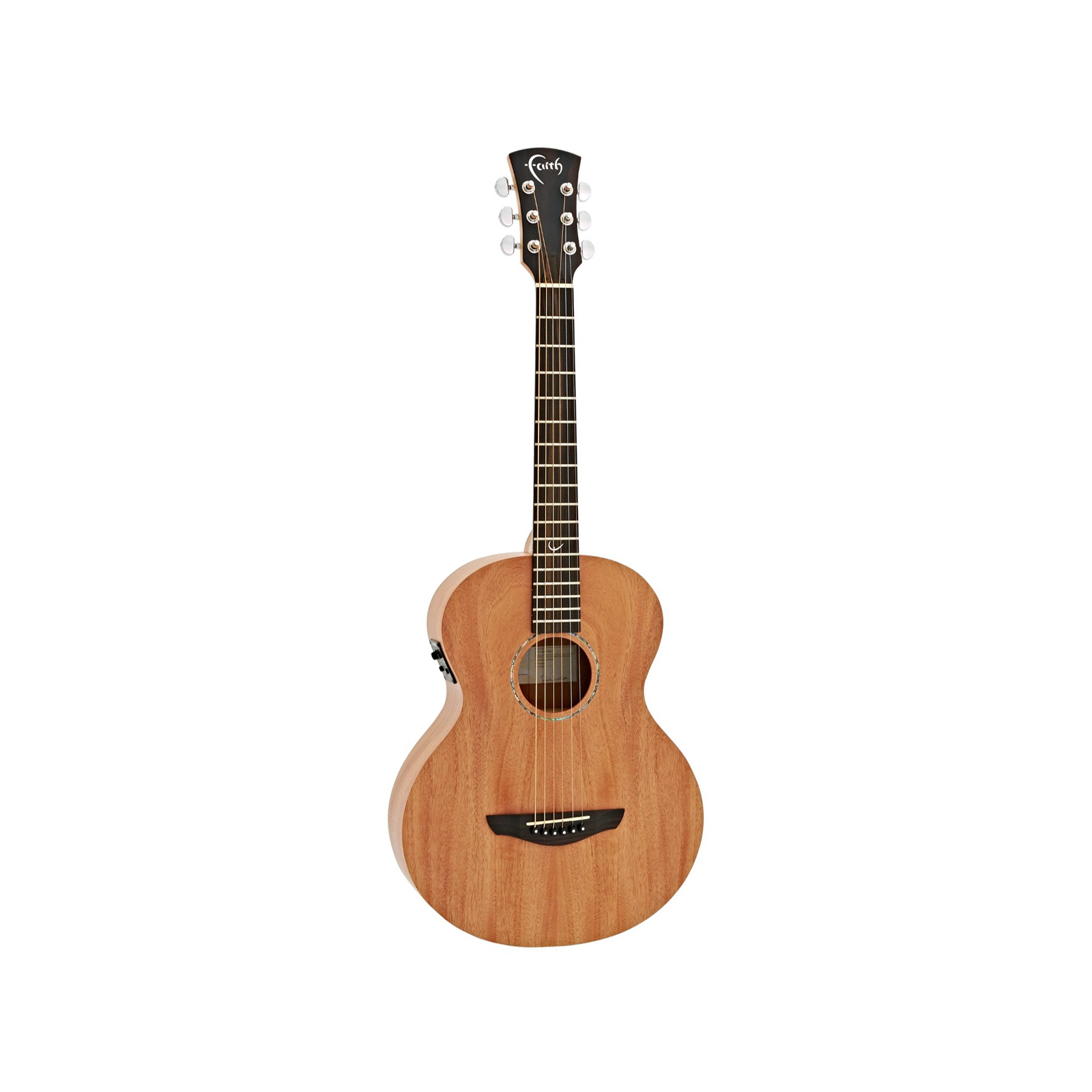 FAITH NOMAD MINI-NEPTUNE TRAVEL ACOUSTIC GUITAR WITH PICKUP & GIG BAG