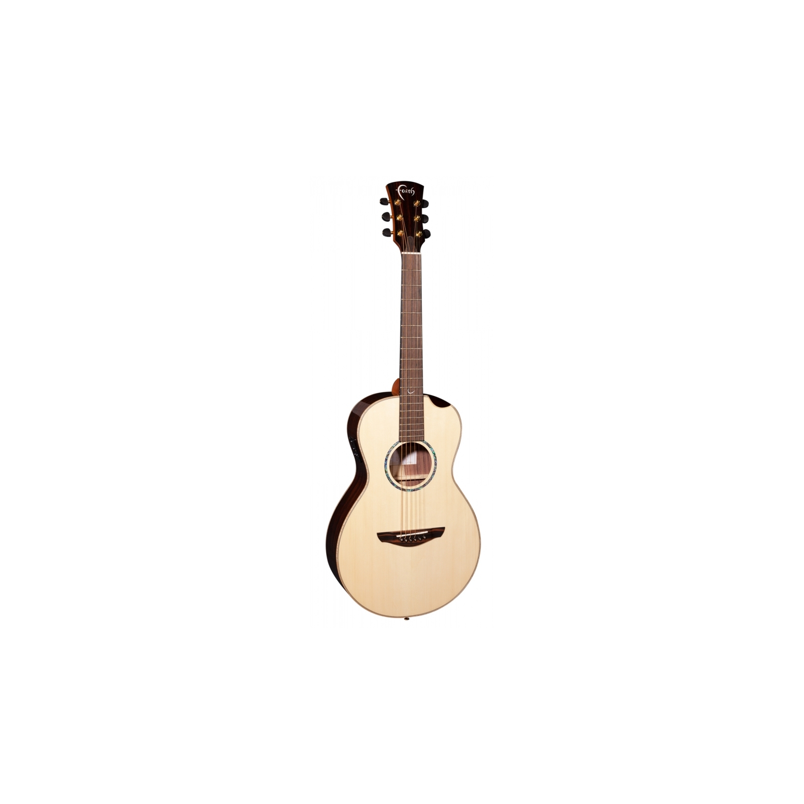 FAITH FMEHG-BNC - HiGloss Mercury Electro Scoop Parlour Guitar