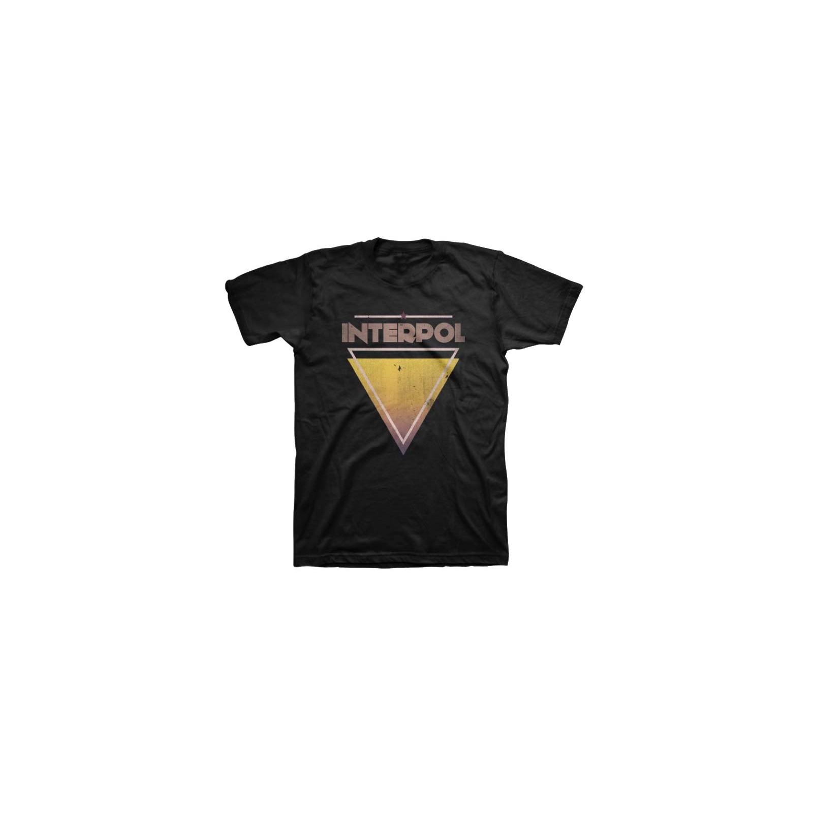 INTERPOL TRIANGLE TEE X-LARGE