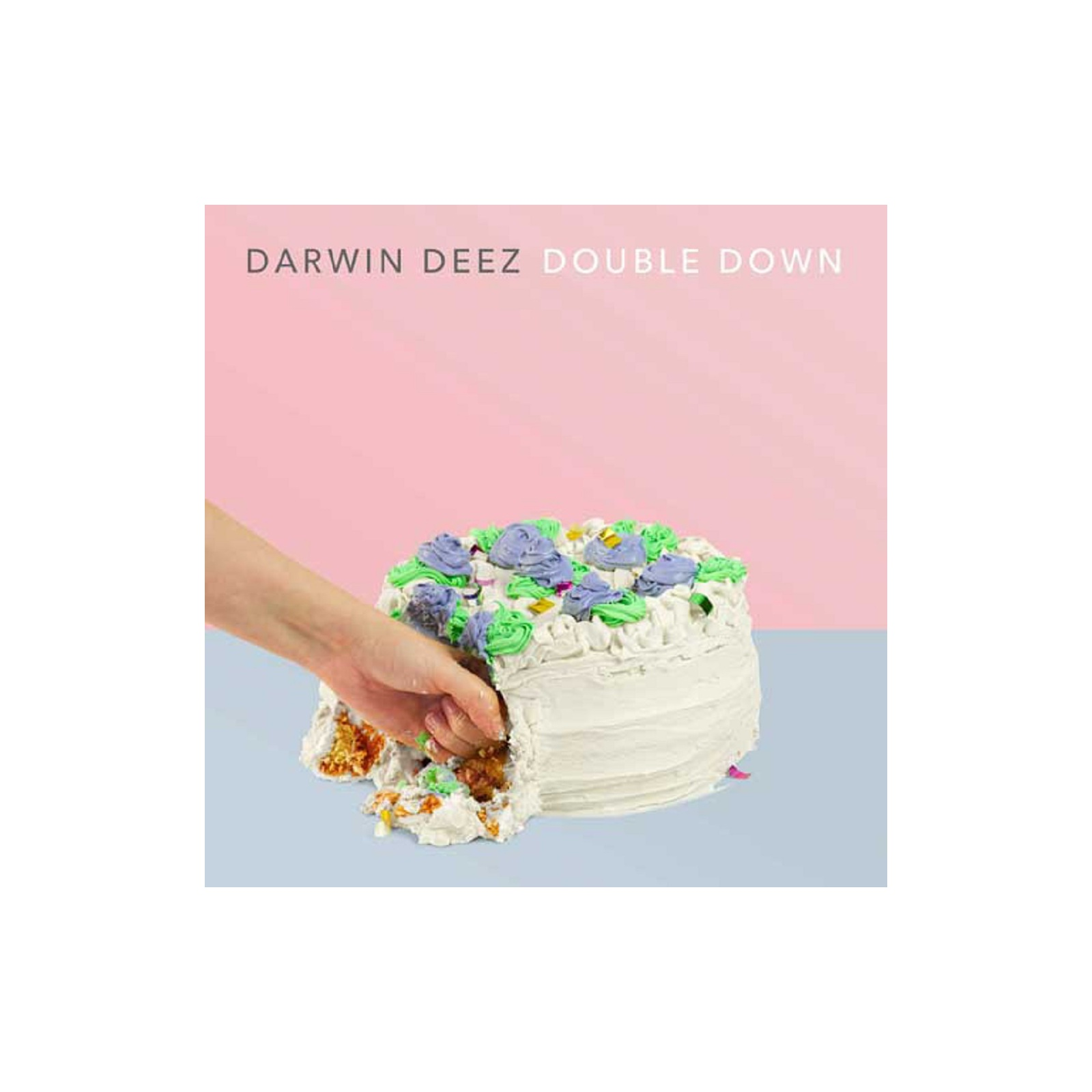 DOUBLE DOWN (LIMITED EDITION COLOURED 180GR VINYL) - DARWIN DEEZ