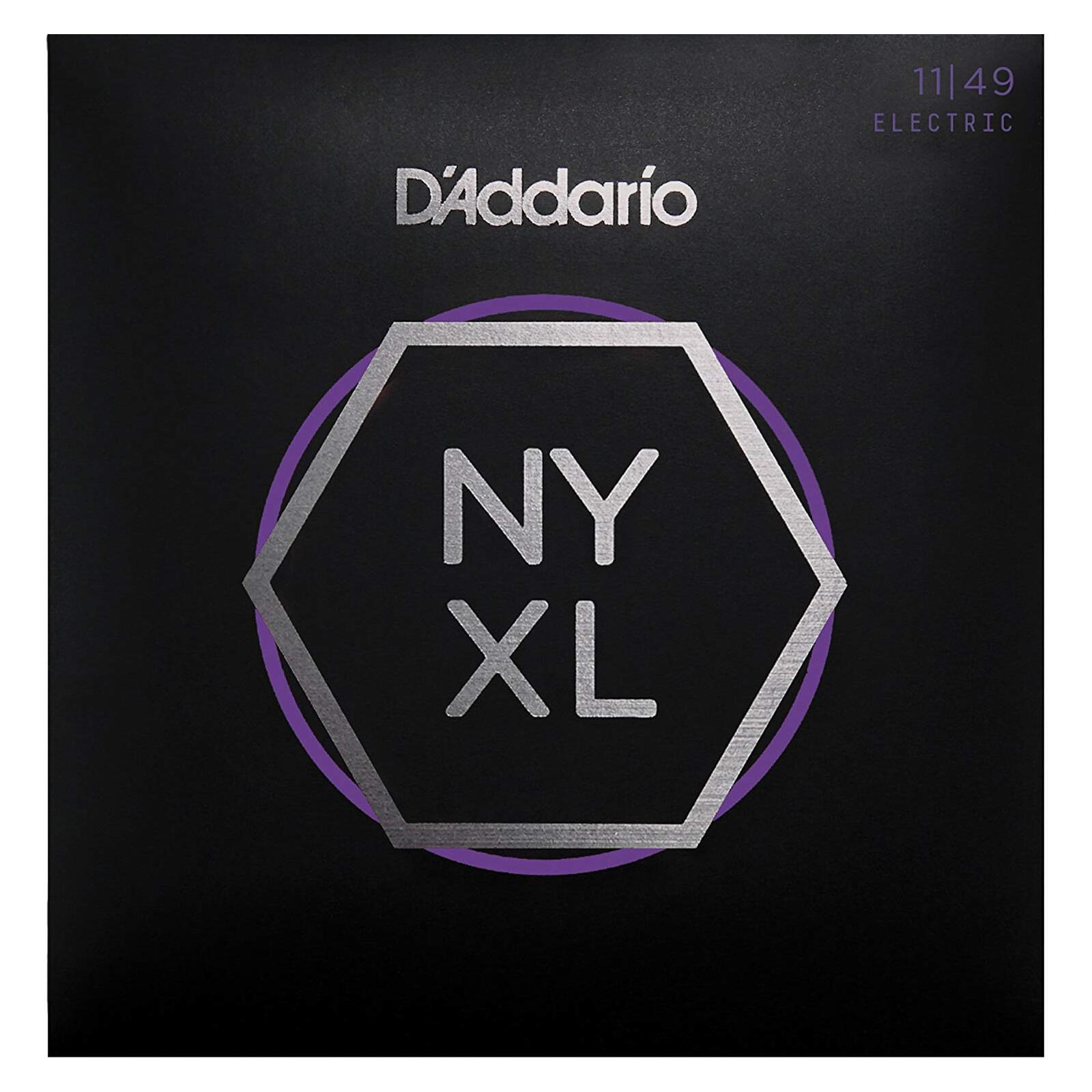 DADDARIO NYXL 11-49 ELECTRIC GUITAR STRINGS