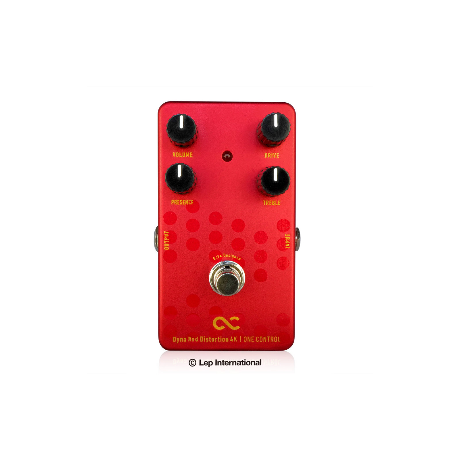 ONE CONTROL BJFE DYNA RED DISTORTION 4K PEDAL
