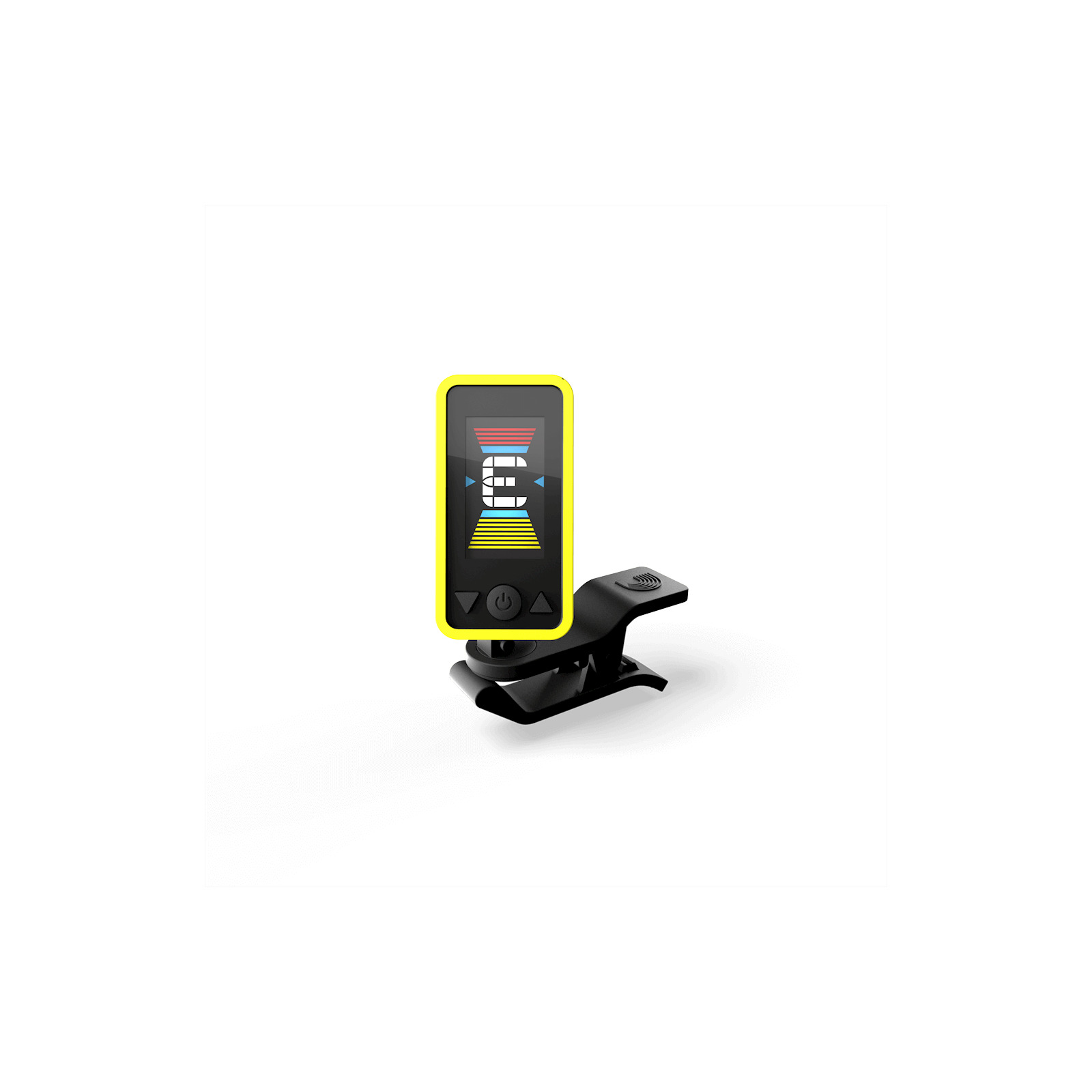 D'ADDARIO ECLIPSE TUNER YELLOW