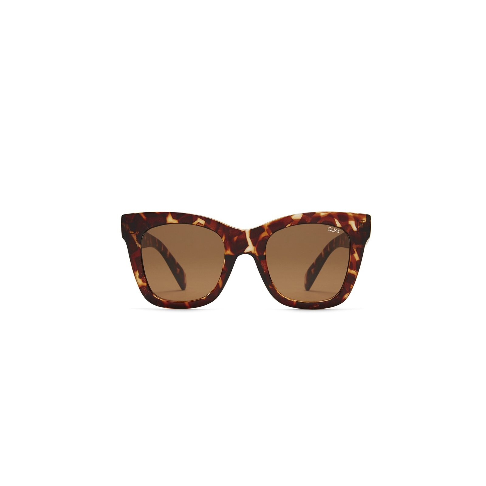 QUAY AFTER HOURS SUNGLASSES TORTOISE/BROWN LENS