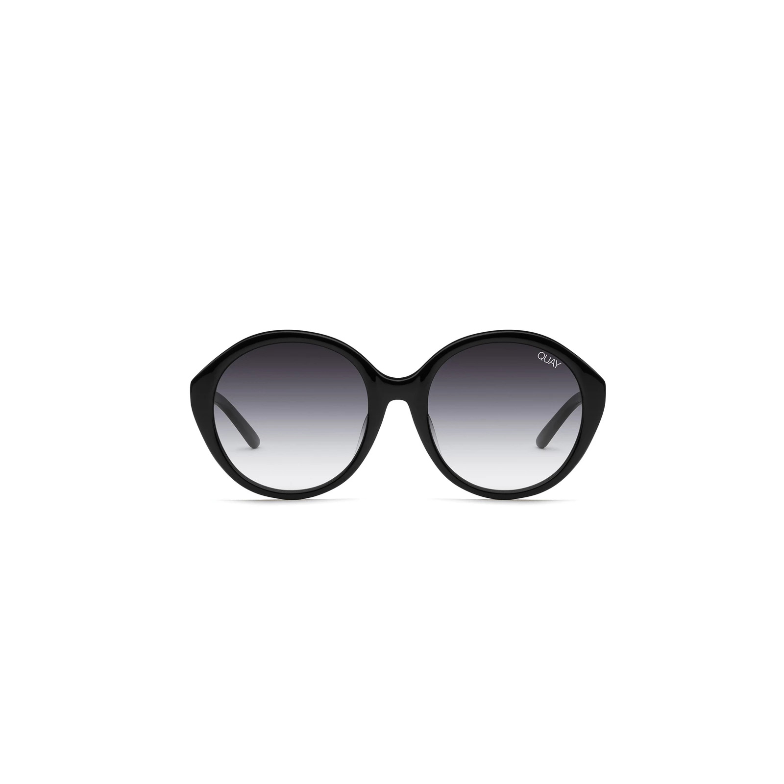 QUAY TINTED LOVE BLACK SUNGLASSES