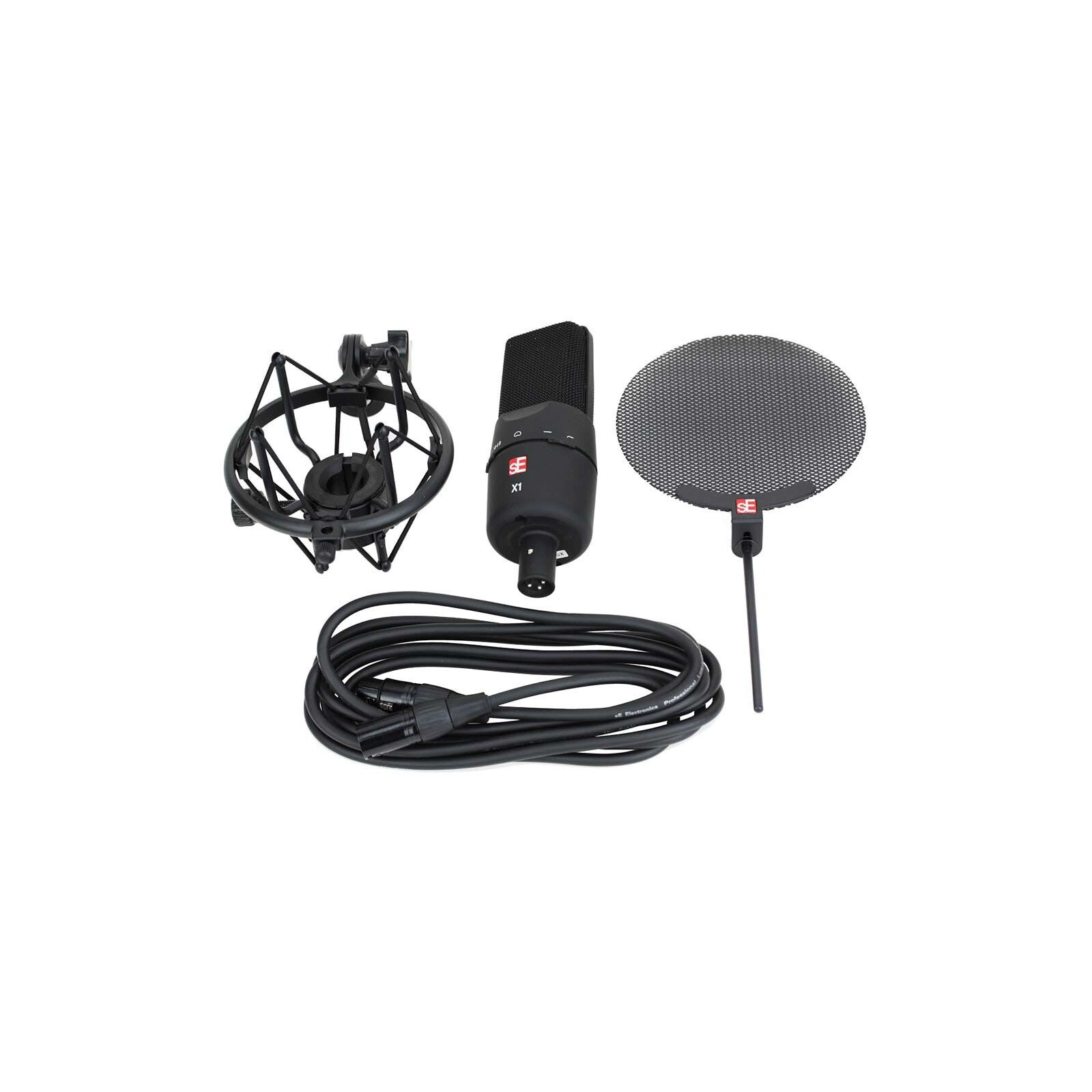 sE Electronics X1S Vocal Pack Studio Recording Condenser Microphone Kit