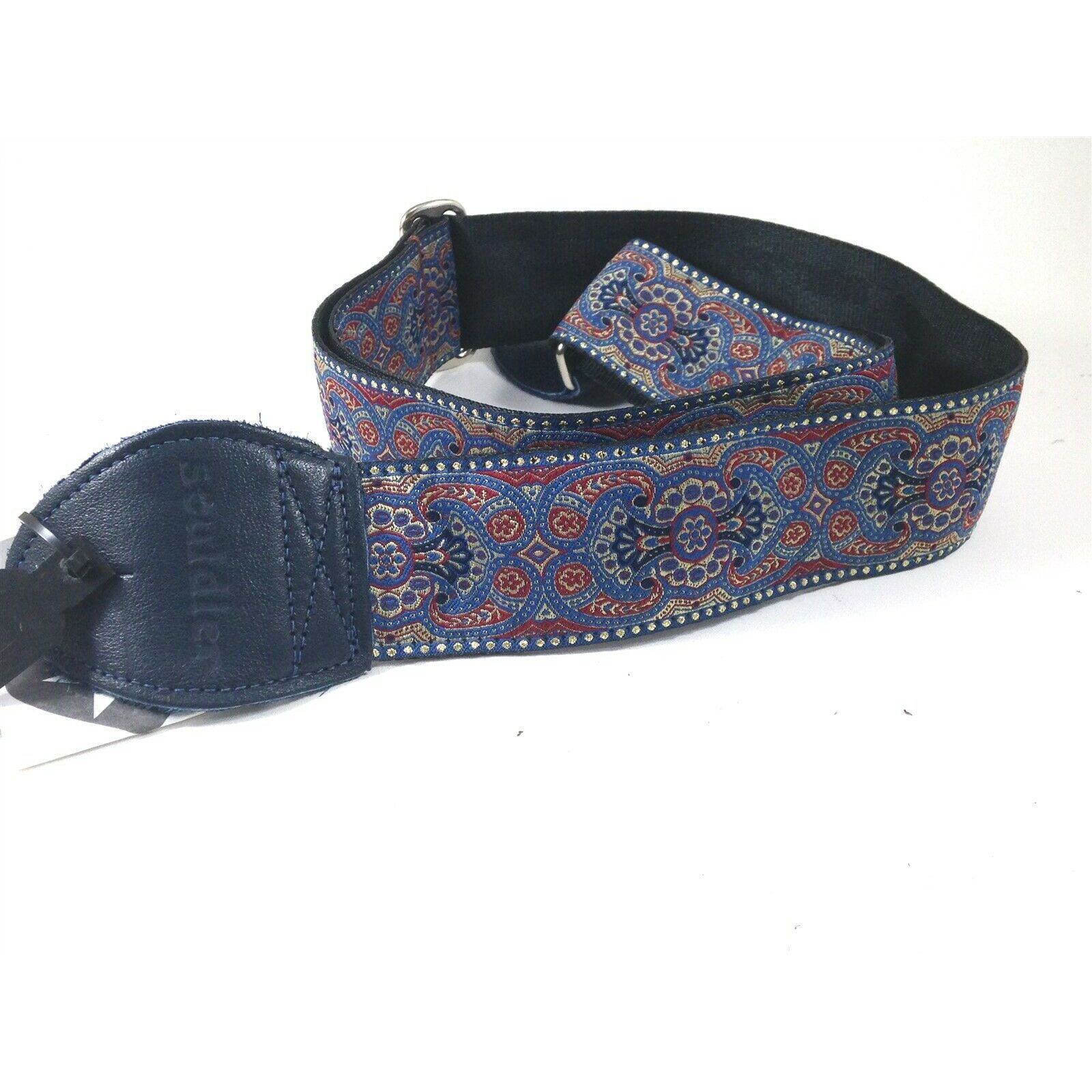 SOULDIER GUITAR STRAPS ARABESQUE INDIGO