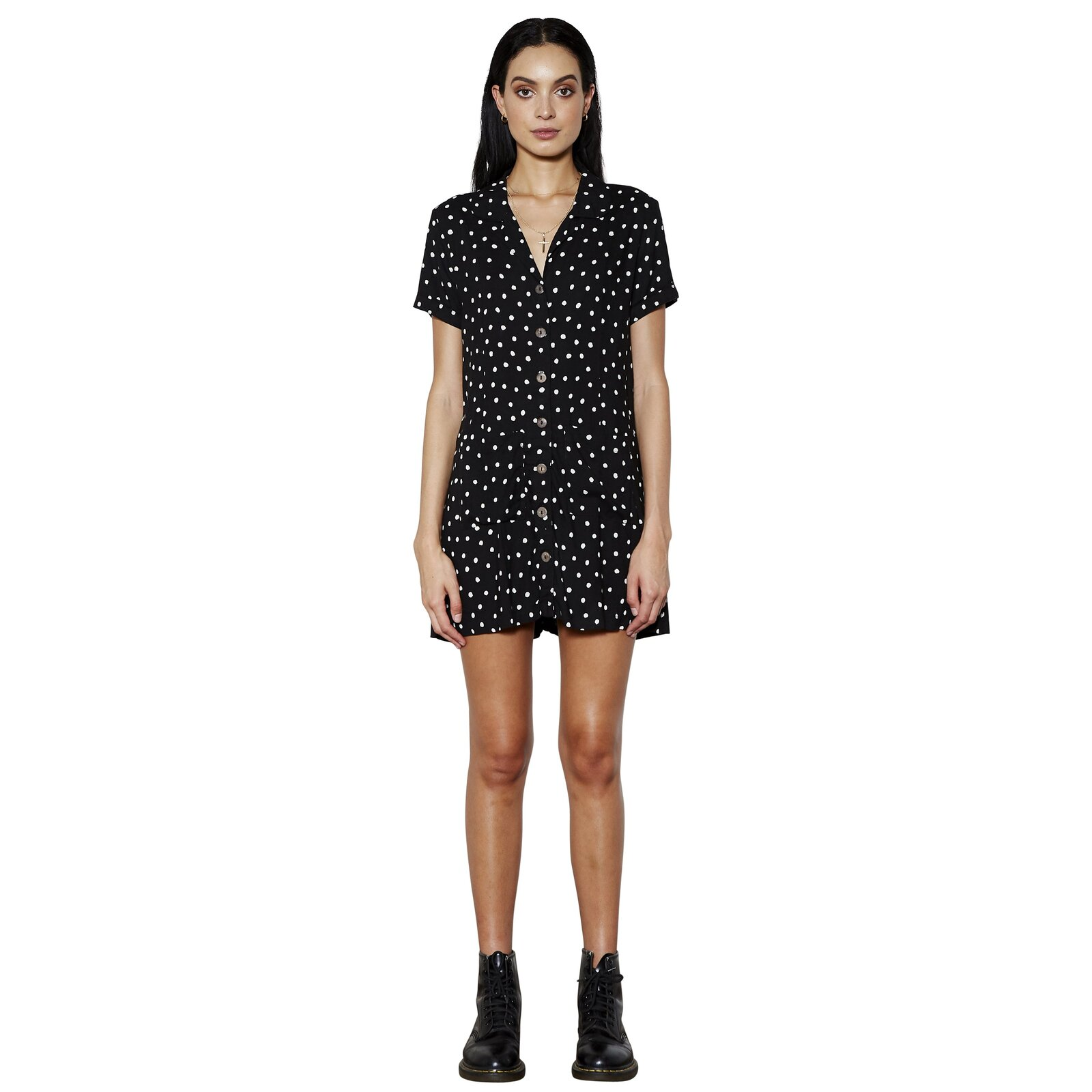 THE PEOPLE VS HACIENDA DRESS ON THE DOT