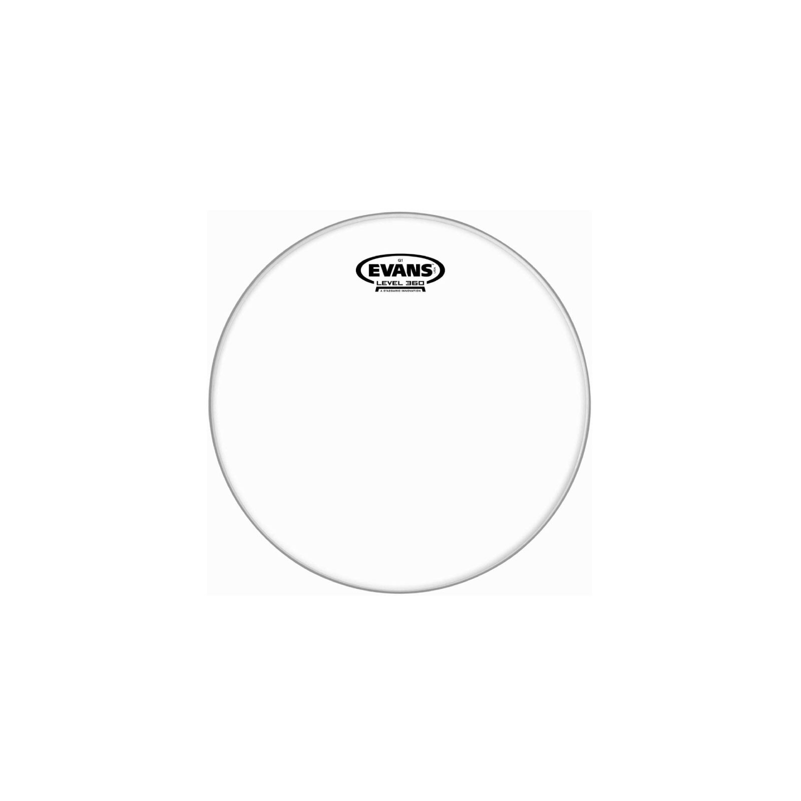 "EVANS 10"" G1 CLEAR DRUM HEAD"