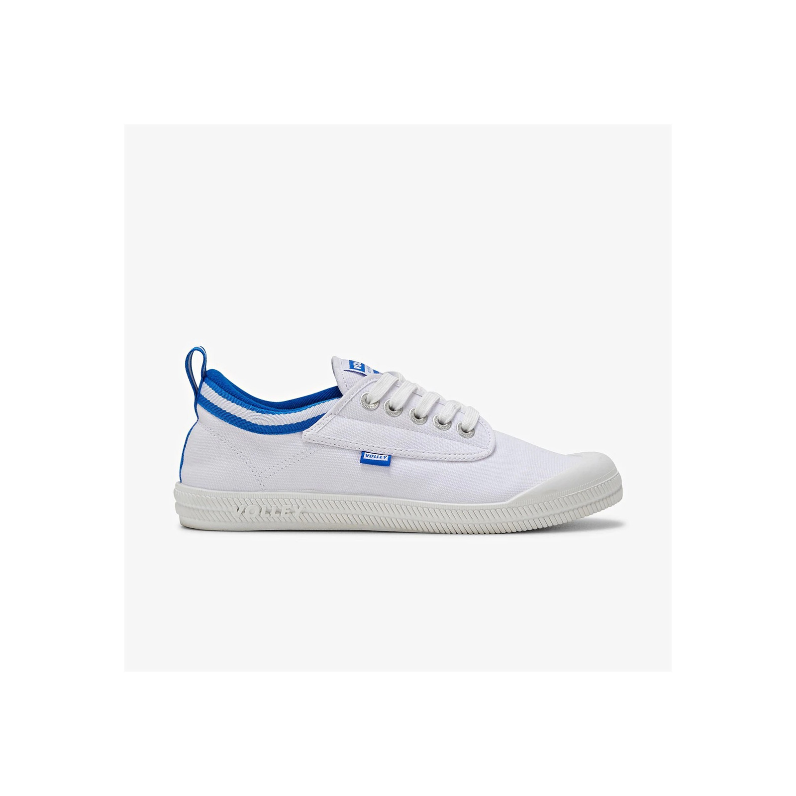 VOLLEY INTERNATIONAL CANVAS WHITE/BLUE